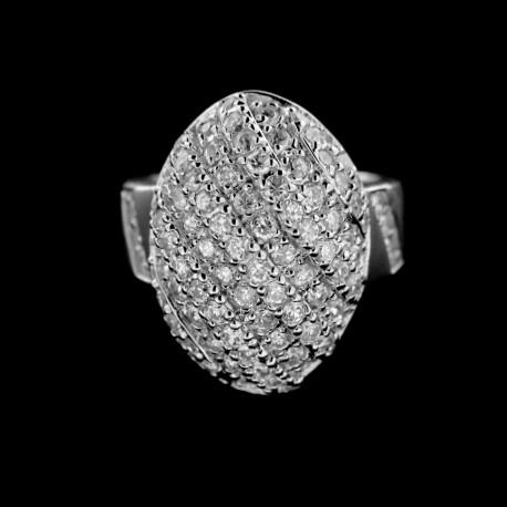 Stříbrný prsten R373