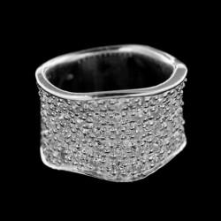 Stříbrný prsten R215