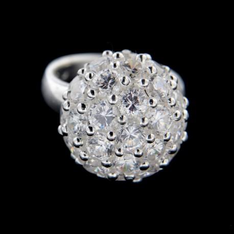 Stříbrný prsten R218