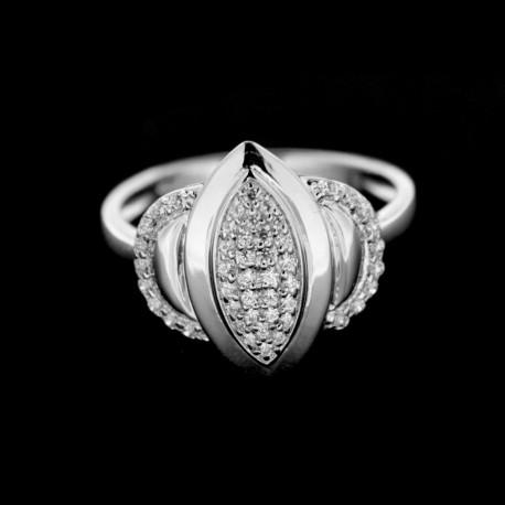 Stříbrný prsten R426