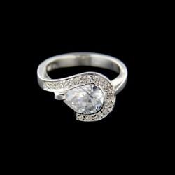Stříbrný prsten R563