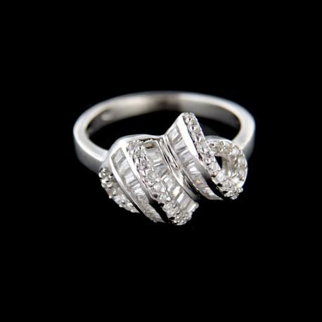 Stříbrný prsten R660