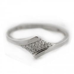 Zlatý prsten ATY189W