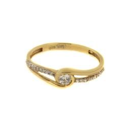 Zlatý prsten R15-4420