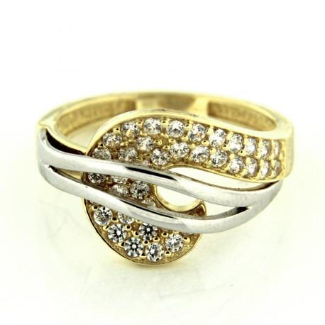 Zlatý prsten R86