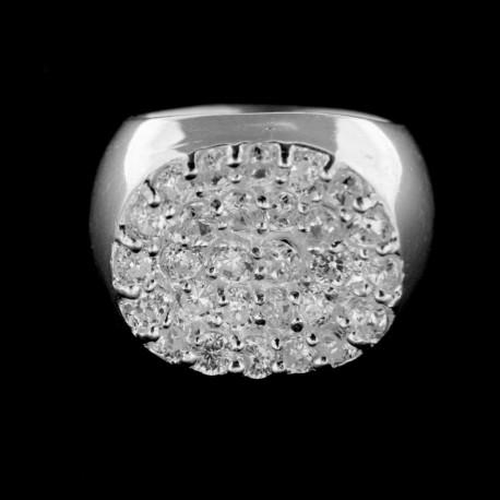 Stříbrný prsten R223