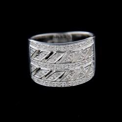Stříbrný prsten R240