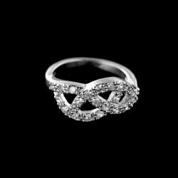 Stříbrný prsten R573