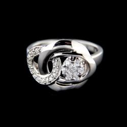 Stříbrný prsten R652