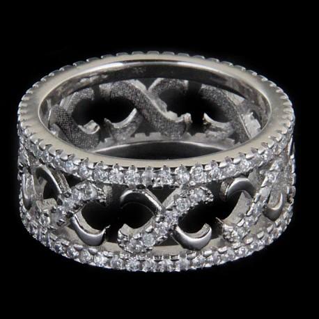Stříbrný prsten R1097