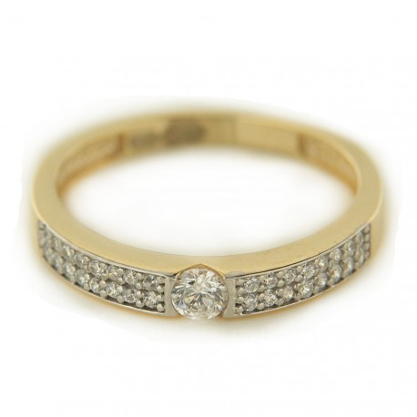 Zlatý prsten YDR62
