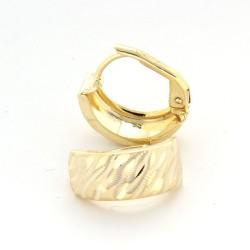 Zlaté náušnice E10331-1335