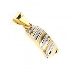 Zlatý přívěs P10333-1358