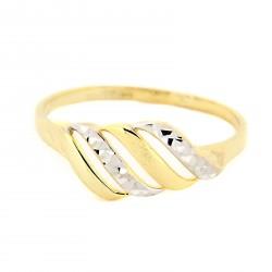 Zlatý prsten ZDC281