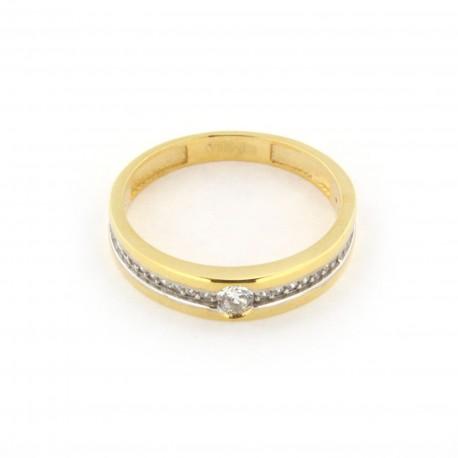 Zlatý prsten MLKR197