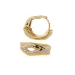Zlaté náušnice E10421-005