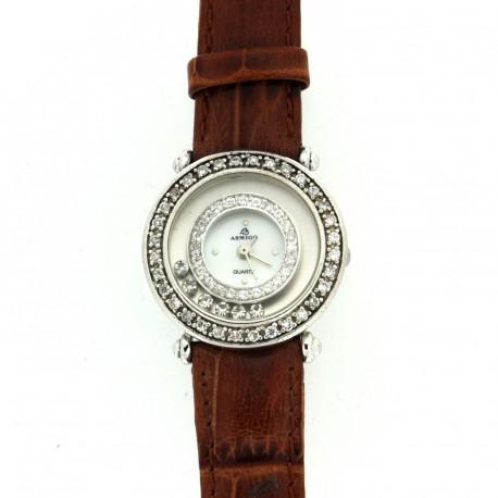 Stříbrné hodinky H02