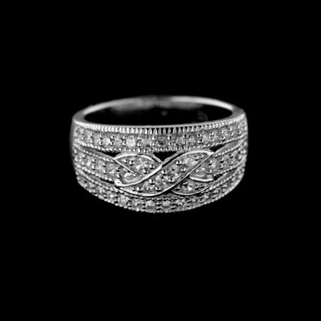 Stříbrný prsten R516