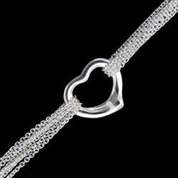Stříbrný řetízek HEART1RH
