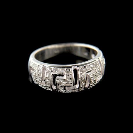 Stříbrný prsten R547