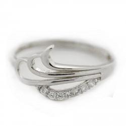 Zlatý prsten SHR207W