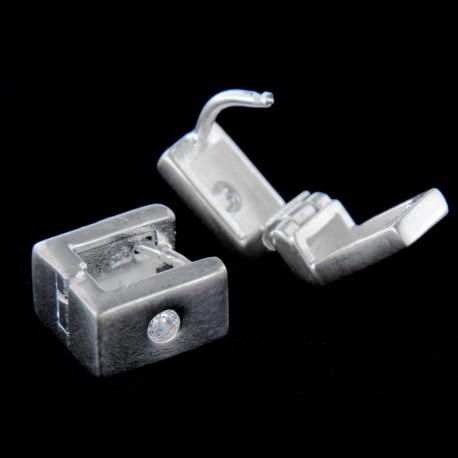 Stříbrné náušnice E162