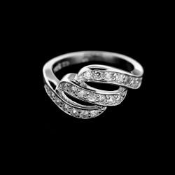 Stříbrný prsten R376
