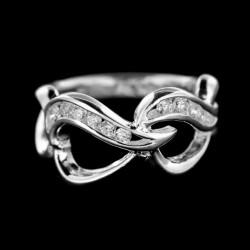 Stříbrný prsten R386