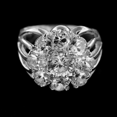 Stříbrný prsten R226