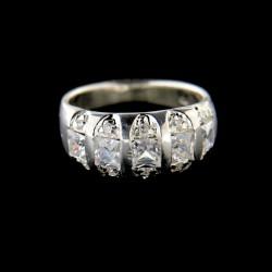 Stříbrný prsten R548