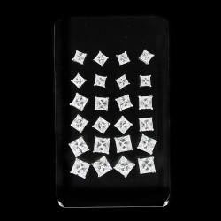 Stříbrné náušnice kusové EP26