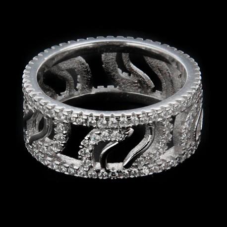Stříbrný prsten R1184