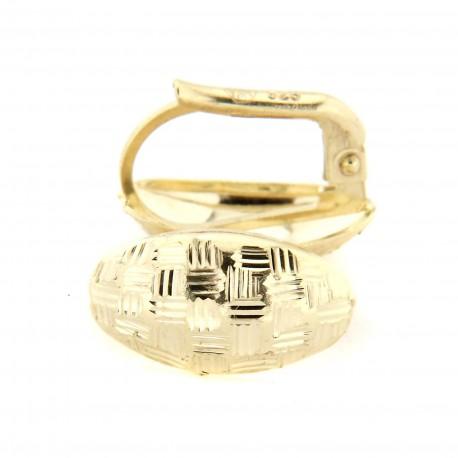 Zlaté náušnice LWHSE349