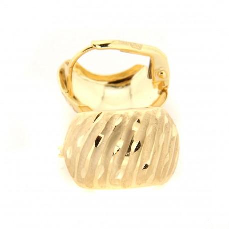 Zlaté náušnice E10329-1355