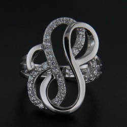 Stříbrný prsten R1970