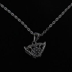 Stříbrný náhrdelník B487