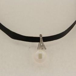Stříbrný náhrdelník B504