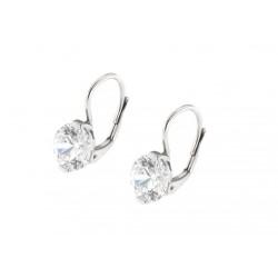 Naušnice stříbrné E1461 crystal