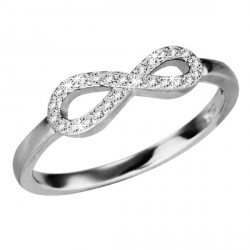 Prsten stříbrný SRJ14
