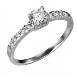 Prsten stříbrný SRJ06