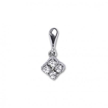 Přívěsek stříbrný P1324 crystal