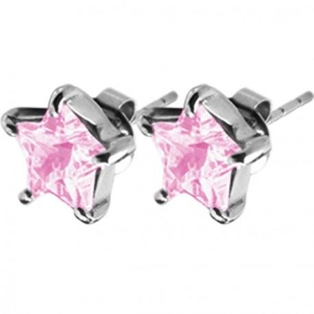 Naušnice ESSW16 rose s krystaly Swarovski Elements - NAUSNICE.CZ 946ac8b0143