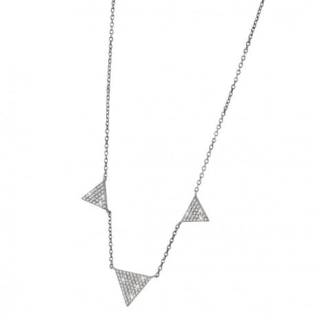 Náhrdelník stříbrný SNJ10