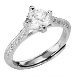 Prsten stříbrný SRJ62