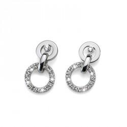 Náušnice Oliver Weber Ring - 22321 (crystal)