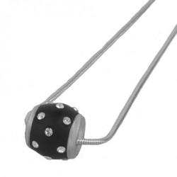 Stříbrný přívěsek Doty - 61046 - Ag925 (black)