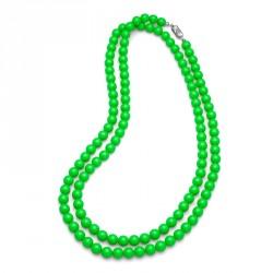Náhrdelník Perlen Combi - 4332 (neon green)