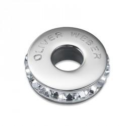 Korálek na náramek Oliver Weber Match Bead Stopper - 56008 (crystal)
