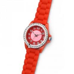 Dámské náramkové hodinky Oliver Weber Funky - 65036 (red)