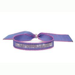 Náramek Oliver Weber Drolly - 32176 (violet / crystal AB)